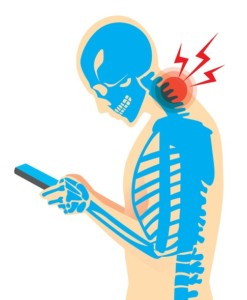 Pain from using smartphone