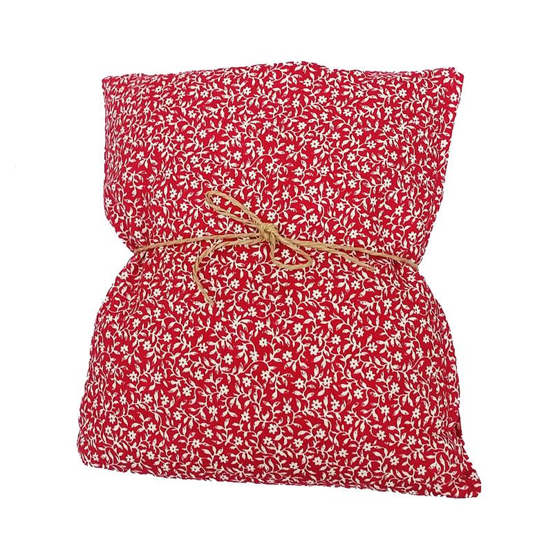 Red Flower Wheat Bag